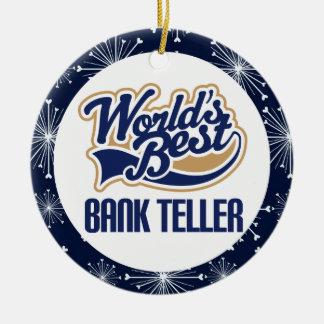 Bank Teller Gift Ornament