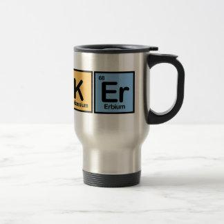 Banker made of Elements Travel Mug