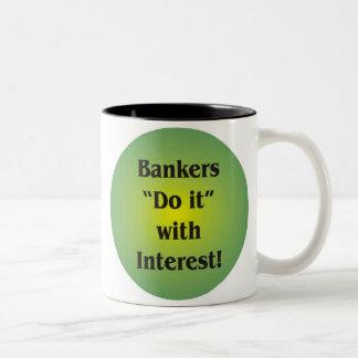 Bankers Two-Tone Coffee Mug