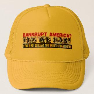 Bankrupt America? Trucker Hat