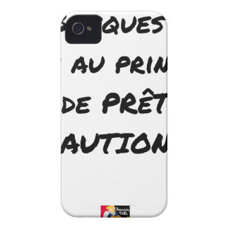 BANKS? NOT WITH THE PRINCIPLE OF LOAN GUARANTEE Case-Mate iPhone 4 CASE