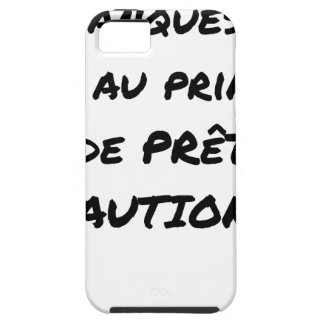 BANKS? NOT WITH THE PRINCIPLE OF LOAN GUARANTEE iPhone 5 COVER