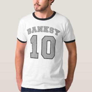 Banksy #10 Football Jersey T-Shirt