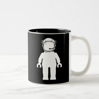 Banksy Style Astronaut Minifig Coffee Mug