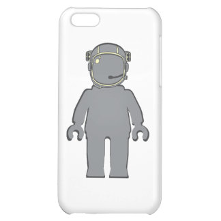Banksy Style Astronaut Minifig Cover For iPhone 5C