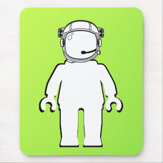Banksy Style Astronaut Minifig Mouse Pad