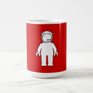 Banksy Style Astronaut Minifig Mug