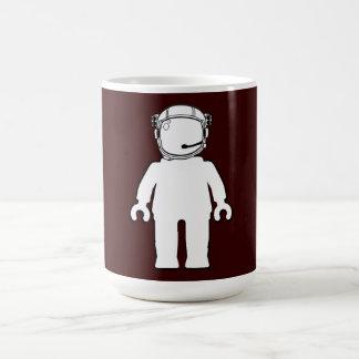 Banksy Style Astronaut Minifig Mugs