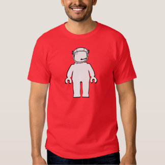 Banksy Style Astronaut Minifig T Shirts