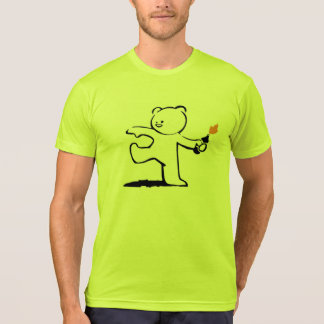 Banksy Teddy Bomber T-Shirt