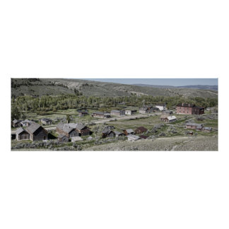 Bannack Ghost Town Main Street Posters