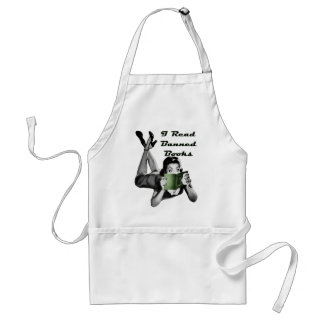Banned Books Apron
