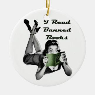 Banned Books Ornament