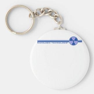 Banner 1 basic round button key ring