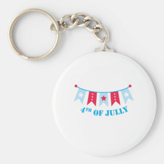 banner_4th of July Key Chain