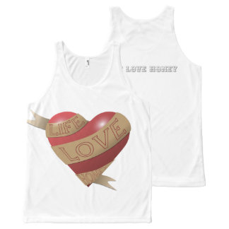 """""""Banner"""" All-Over Printed Unisex Tank"""