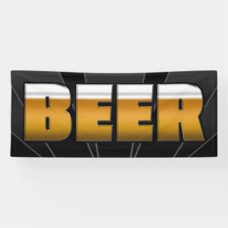 BANNER BEER  - 2.5'x6'