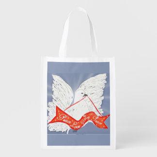 Banner Dove Reusable Grocery Bag