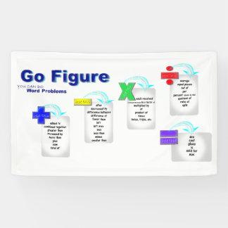 """Banner Math Bulletin Board """"Go Figure"""""""