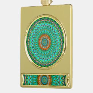 Banner Ornament Geometric Mandala G388