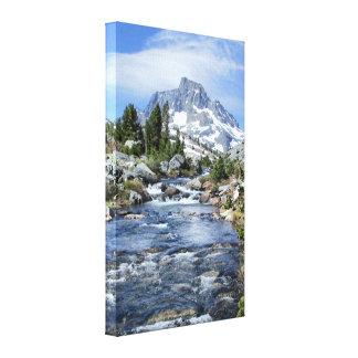 Banner Peak from Thousand Island - Sierra Nevada Canvas Print