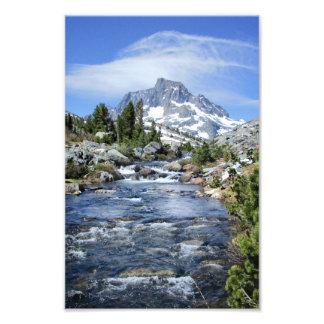 Banner Peak from Thousand Island - Sierra Nevada Photo Print