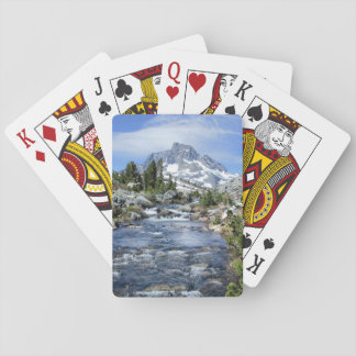 Banner Peak from Thousand Island - Sierra Nevada Playing Cards