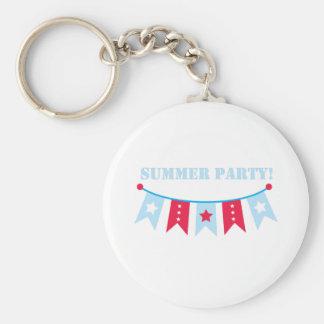 banner_Summer Party! Keychain