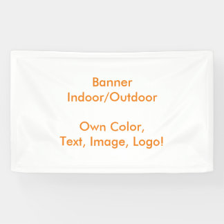 Banner uni White - Own Color