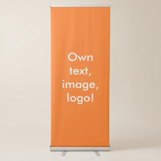 Banner Vertical Retractable uni Orange