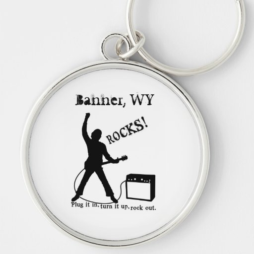 Banner, WY Key Chains