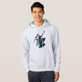 Bannerman Clan Badge Adult Hoodie