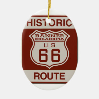 BANNEROK66 CERAMIC ORNAMENT