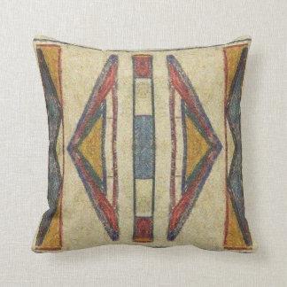 Bannock 1901 Parfleche design Cushion