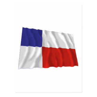 Banska Bystrica Waving Flag Postcard