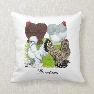 Bantams Feather Legged Cushion