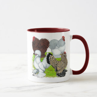 Bantams Feather Legged Mug