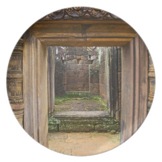Banteay Srei Temple, Angkor, Siem Reap Province, Dinner Plate