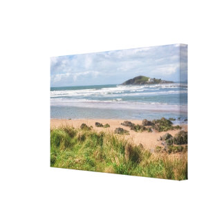 Bantham and Burgh Island View Canvas Print