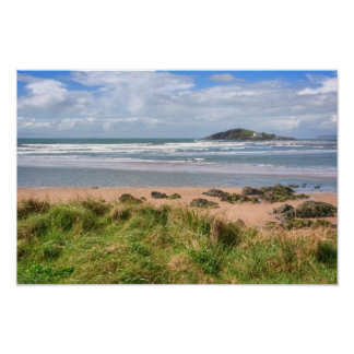 Bantham and Burgh Island View Poster