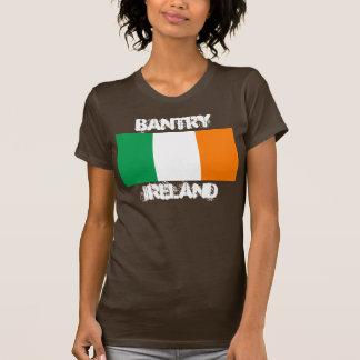 Bantry, Ireland with Irish flag T-Shirt