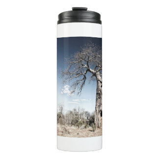 Baobab Tree at Mana Pools National Park, Zimbabwe Thermal Tumbler