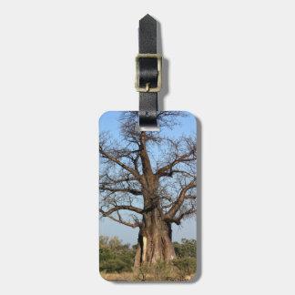 Baobab Tree Luggage Tag