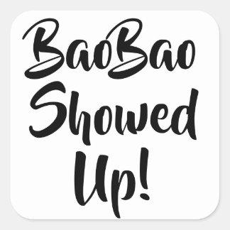 BaoBao Showed Up Stickers