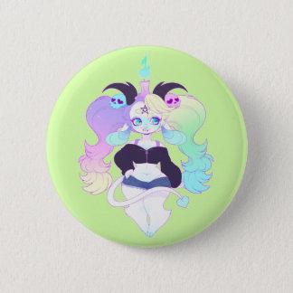 Baphomet 6 Cm Round Badge