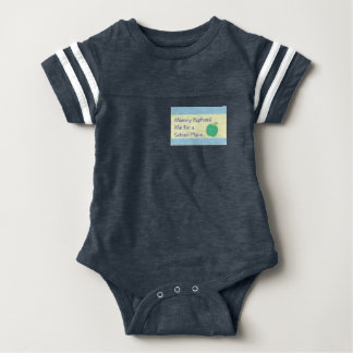 Baptised for a School Place baby vest Baby Bodysuit