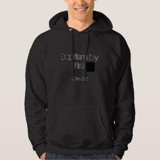 "Baptism by Fire ""Heart"" Hooded Sweatshirts"