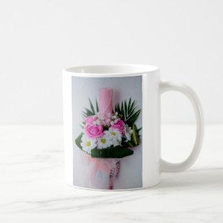 Baptism candle coffee mug