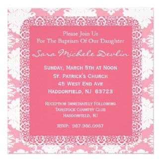 Baptism/Christening Invitation for Girl