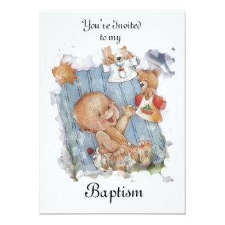 Baptism / Cristening invitation